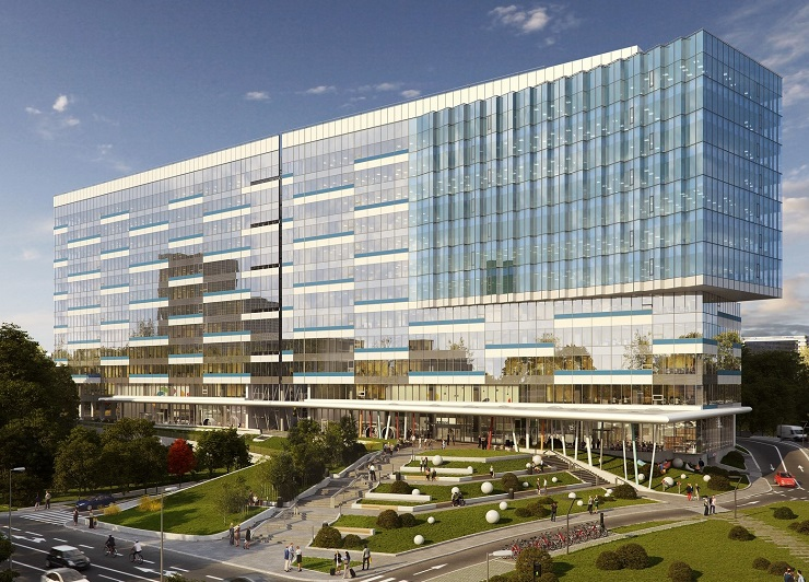 Skanska: EUR 45 M investment in the 2nd phase of the Equilibrium Office Project